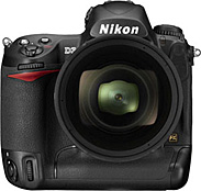 The Nikon D3 digital SLR camera can shoot at 9 frames per second at full resolution. Shutter lag is not a factor.