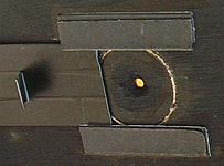 The pinhole must be perfectly round and smooth, and of precisely the right diameter for the focal length.