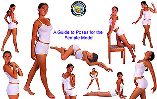 Guide to Poses for the Female Model - only one of five posing