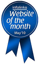 PhotographyTips.com was named Website of the month by Infolinks.