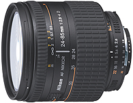 This lens can be used on both a traditional Nikon 35mm film SLR camera and a Nikon digital SLR camera.