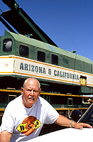 Len Kratz at Parker Arizona - April, 2005