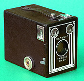 Camera design has come a long way since the original Kodak Brownie.