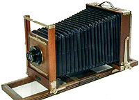The VIEW CAMERA is the largest of the basic camera types.