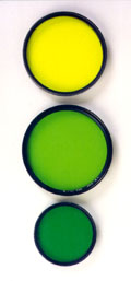 Yellow, yellow-green and green are perhaps the most-popular filters for black and white film photography.