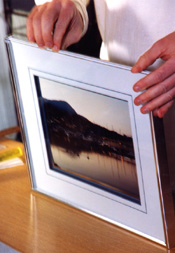 In archival framing, all materials are acid-free and can be quite expensive.