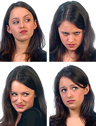Looking for a particular expression for your model? You will probably find it in our Facial expressions galleries.