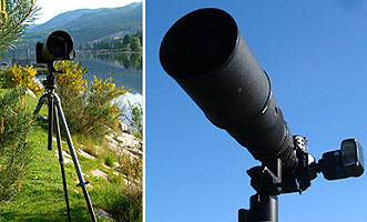 FOCAL LENGTH is the determination of the relative size of a lens.